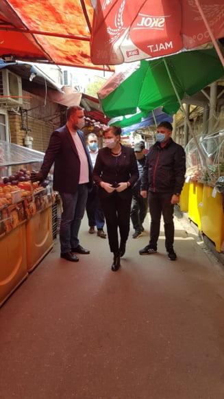 ANPC a mai inchis doua piete mari din Bucuresti, din cauza riscului de COVID-19 (Video)