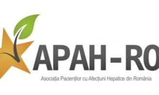 APAH-RO asteapta reluarea cat mai rapida a programului cu interferon free