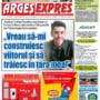 ARGES EXPRES 25 MAI 2017 - Prima pagina