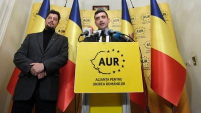 AUR a urcat pe locul 3 in intentia de vot a romanilor: peste 6% in plus comparativ cu decembrie 2020. Ce procent ar obtine PSD