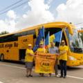 AUR nu a declarat la Comisia Electorala din Republica Moldova cheltuielile celebrului autocar folosit si in Romania