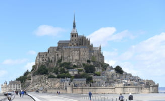 Abatia Mont-Saint-Michel din Franta va intra intr-un proces de renovare timp de doi ani si jumatate