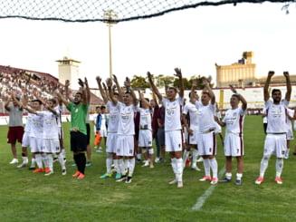 Academia Rapid a invins AFC Rapid in cel mai bizar meci pentru fanii giulesteni