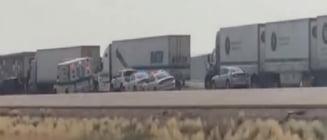 Accident în lanț cu zeci de mașini, cauzat de o furtună de nisip, în SUA. Opt morți și mai mulți răniți VIDEO