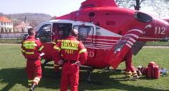 Accident DRAMATIC pe o sosea din Ardeal! A fost solicitat de urgenta elicopterul SMURD. Printre victime, o copila de 10 ani