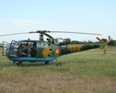 Accident aviatic cu un elicopter MApN (Video)