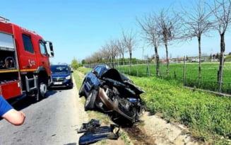 Accident cu 3 persoane ranite pe DN2, printre care si un minor