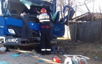 Accident cu 3 victime pe DN2, la iesirea din Urziceni