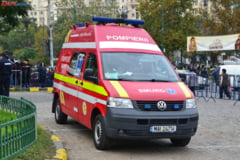Accident cu 7 masini in Capitala, din cauza unui sofer al Jandarmeriei, care era baut la volan UPDATE