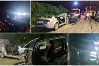 Accident cu 8 victime pe DN 19B: Un bihorean si alte trei persoane si-au pierdut viata