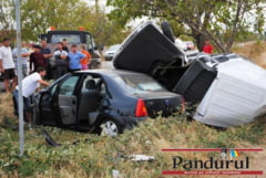 Accident cu patru victime la Campu Mare