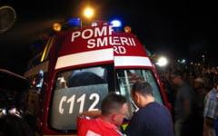 Accident cu patru victime pe DN21. Unul dintre raniti, ramas incarcerat, a fost transportat la Spitalul din Slobozia