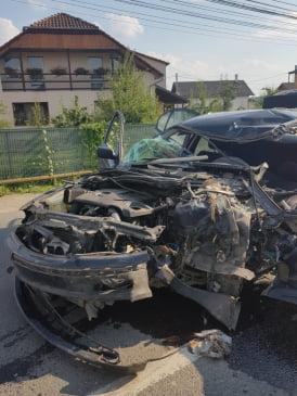 Accident cu sapte victime in Criseni
