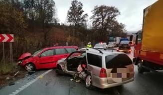 Accident cu sase raniti pe Dealul Ceragau
