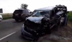 Accident cu trei masini in judetul Buzau: sase raniti