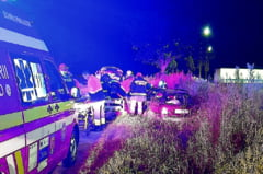Accident cu trei raniti la Sabaoani