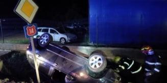 Accident cu trei victime in Danes