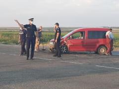 Accident cu trei victime
