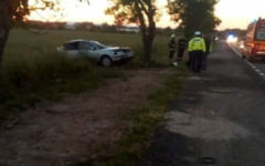 Accident cumplit la Ileana. Trei persoane, ucise pe loc dupa ce masina in care se aflau s-a infipt intr-un copac