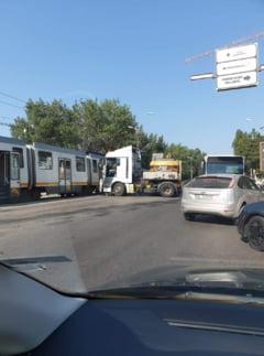 Accident de tramvai in apropiere de stadionul Steaua