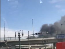 Accident de tren urmat de incendiu in Egipt: Cel putin 20 de oameni au murit (Video&Foto)