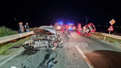 Accident fatal în județul Constanța. O femeie de 35 de ani și copilul ei de 12 ani au murit pe loc VIDEO