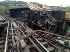 Accident feroviar cu repetitie: Un vagon al trenului deraiat in 8 aprilie a sarit iar de pe sine