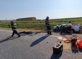 Accident grav în Bihor. Doi morți, printre care și un copil
