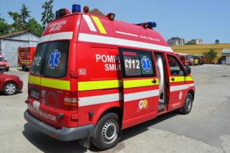 Accident grav cu 6 raniti pe DN1: A fost solicitat elicopterul SMURD