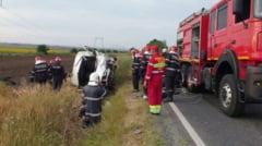 Accident grav duminica dimineata in Constanta: trei persoane au murit, doua sunt in coma