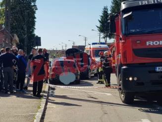 Accident grav in Campia Turzii (video)