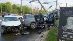 Accident grav in Capitala. Patru persoane au fost ranite VIDEO