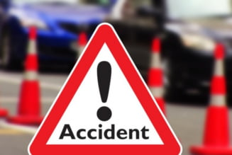 Accident grav in Moraresti. Se circula alternativ