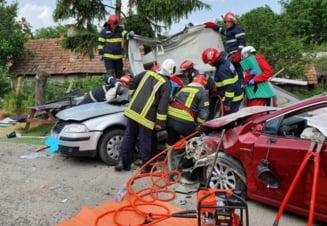 Accident grav in Zalau