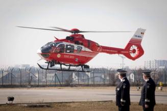 Accident grav in judetul Vaslui. O fata de 12 ani, preluata cu elicopterul SMURD