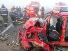 Accident grav intre Gepiu si Lazareni