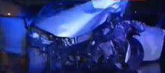 Accident grav la Otopeni: Circulatie blocata pe un sens pe soseaua de centura a Capitalei UPDATE