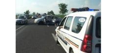 Accident grav la iesirea din Posta Calnau