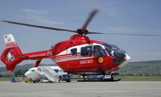 Accident grav pe DN2. Pieton lovit de o autoutilitara, preluat de elicopterul SMURD. Traficul in zona este blocat