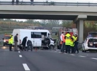 Accident in Ungaria: trei romani au murit si cinci sunt raniti