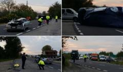 Accident la Iaz: doi morti si doi raniti