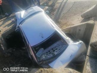 Accident la Rusu Bargaului. O tanara a fost transportata la spital!
