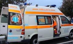 Accident la intrarea in Dumitra. Un barbat de 32 ani va fi transportat la spital!
