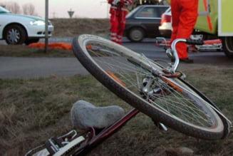 Accident mortal in Biharia: Un sofer a lovit un biciclist si a fugit de la locul faptei. A fost prins dupa 20 de minute