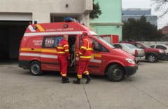 Accident mortal in Cluj, produs urma exploziei unei anvelope