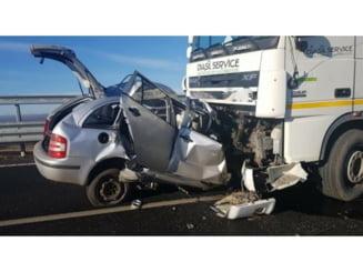 Accident mortal pe Varianta Ocolitoare a Sucevei