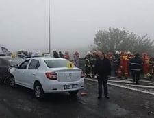 Accident pe Autostrada Soarelui: Inca o persoana a murit la spital