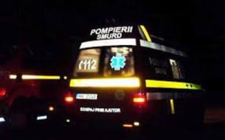 Accident pe Bulevardul Independentei! Doi barbati au fost transportati la spital