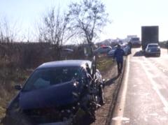 Accident pe Centura Bucuresti, de Craciun. O persoana a fost grav ranita