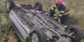 Accident pe DJ153B, in Mures